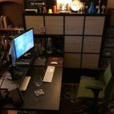 Ikea Hacking – Kallax and Linnmon Mega Desk